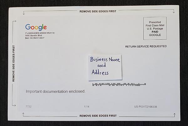 gmb postcard front